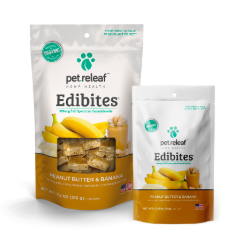 Edibites for Dogs: Peanut Butter and Banana