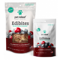 Edibites for Dogs: Blueberry Cranberry